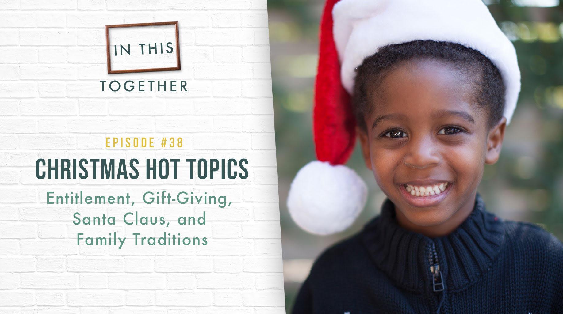 Family Christmas Gift Giving.38 Christmas Hot Topics Entitlement Gift Giving Santa