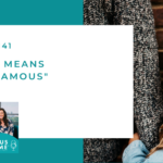 "#141: What It Means to Be ""Famous"""