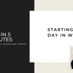 FAH in 5 Minutes: Starting the Day in Worship