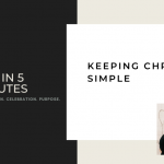FAH in 5 Minutes: Keeping Christmas Simple
